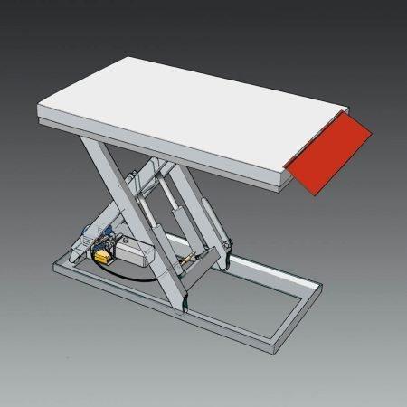 laadklep voor lifttafels voor ladingen en laadperrons laaddocks statech