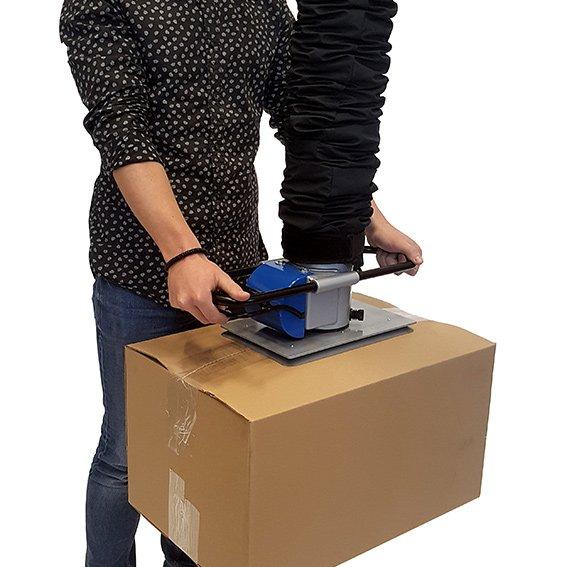 vacuüm hijsen kartonnen dozen toebehoren bij prilift vacuümpomp verkrijgbaar bij Statech