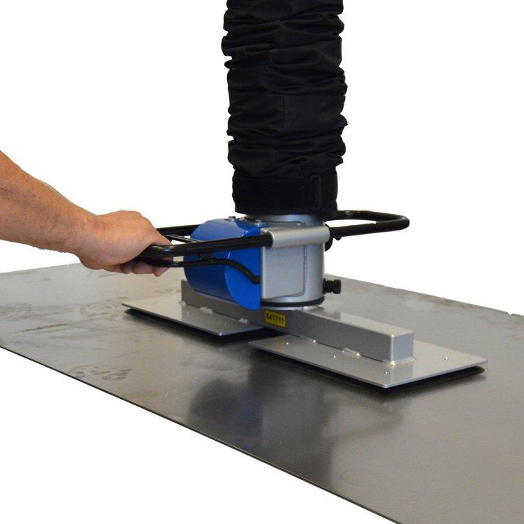 vacuüm platenheffer industriële hijssystemen prilift ergonomie in de werkplaats Statech