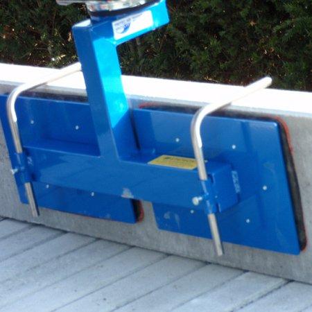 vacuümbalk zuignap aangepast aan type boordsteen prilift toebehoren op maat Statech