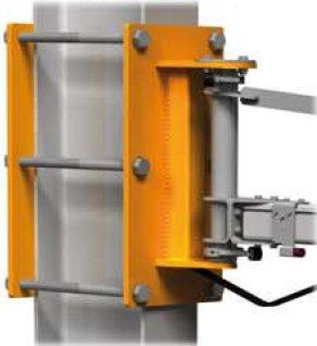 wandzwenkkraan bevestiging aan poutrel stalen balk klemsysteem statech